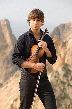 Alexander Rybak -- adorable, can sing, and plays violin! <3