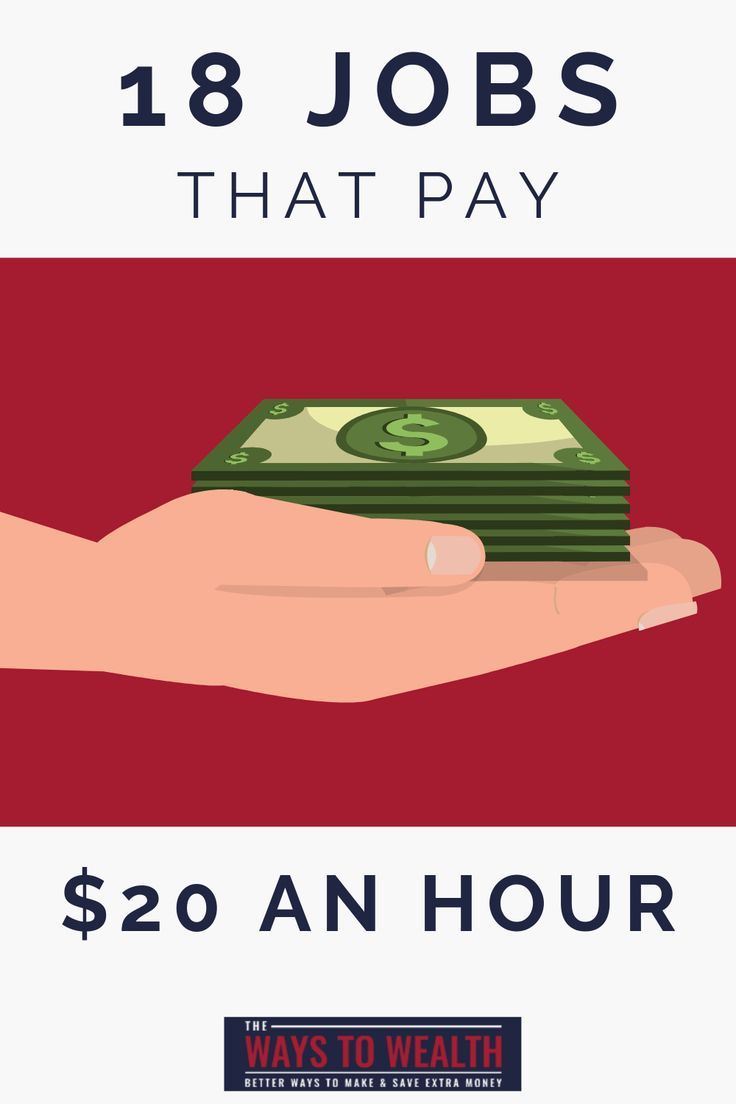18 Jobs That Pay $20+ Per Hour — No Experience Necessary – Freelance Tips