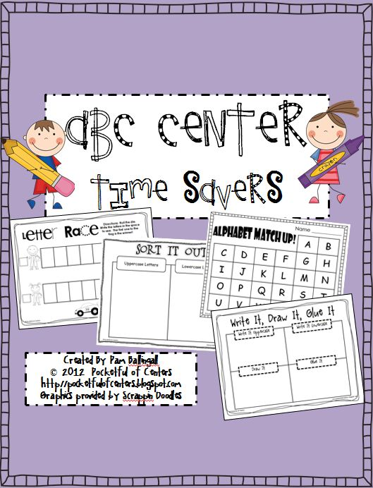 BEST SELLER - ABC Center Time Savers $8.00