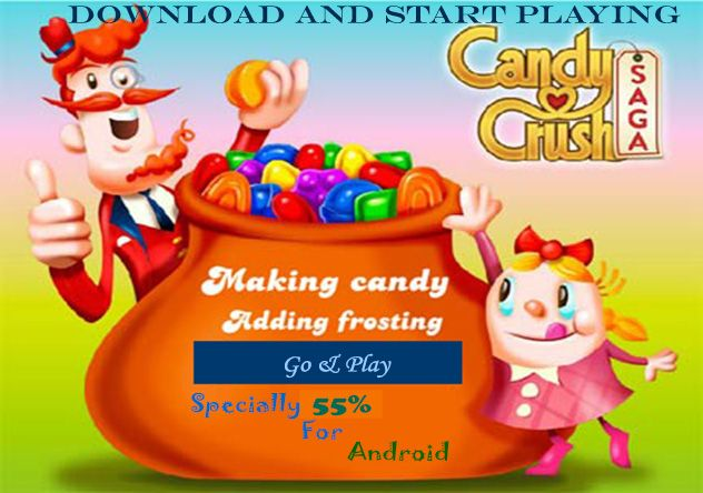 Candy Crush Saga Download For Android ! Its All New Version Of The Game Because Now Its Really Hard To Find It On Play Store Also, So Stat Download Now !
