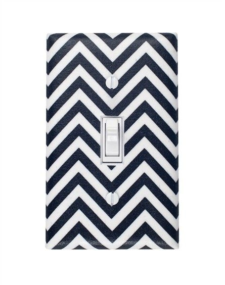 Chevron Light Switch Plate CoverSwitched Plates, Apartments Ideas, Black And White, Fab Com, Plates Black, Chevron Switched, Black White, Smitten Kittens, Chevron Lights
