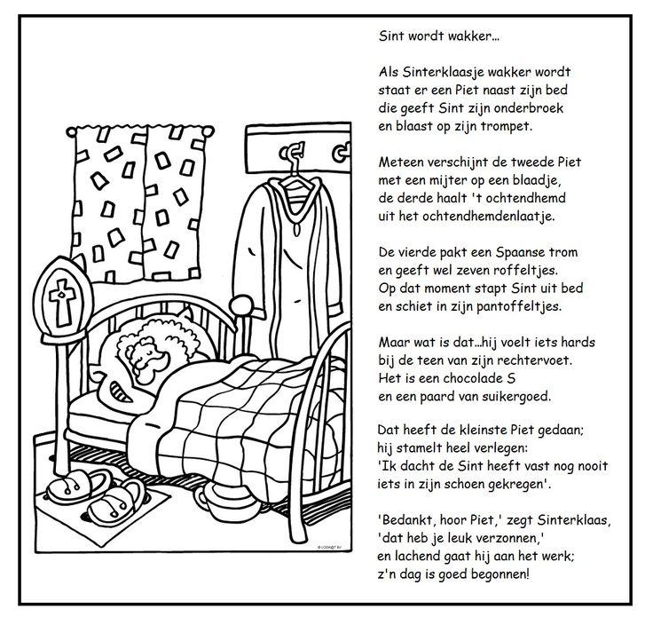 * Versje: Sint wordt wakker...