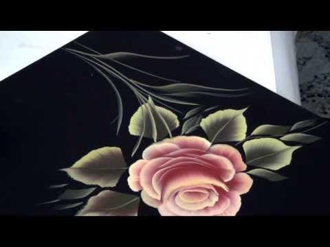 PINCELADAS PINTURA DECORATIVA - YouTube