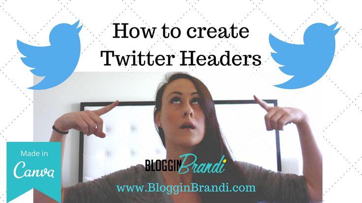 Twitter Headers - Cool Twitter Headers Tutorial