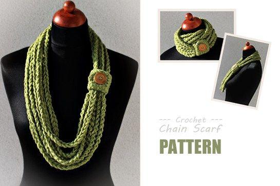 Best 25 Knit Scarves Ideas On Pinterest: Best 25+ Crochet Chain Scarf Ideas On Pinterest