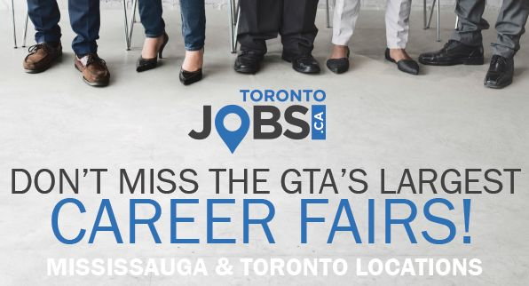 Don't miss your chance to meet with 100's of top GTA employers at the TorontoJobs.ca Career Fairs! Event Information & registration - http://conta.cc/2EsqC91 #ToJobsCareerFair #WeFindPeopleJobs #ONjobs #JobSearch #Careers #Employment