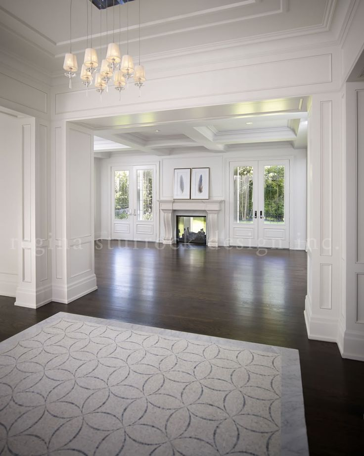Oakville Interior Design Project: Beyond the Blueprint | Regina Sturrock Design Inc. (Beautiful Mill Work)