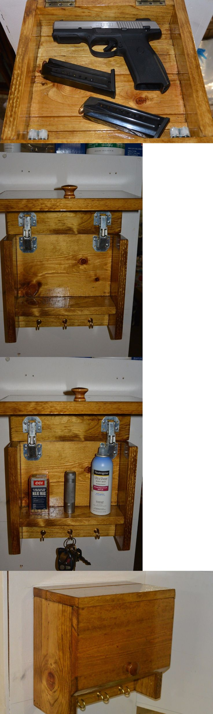 Cabinets and Safes 177877: The Ultimate Secret Compartment Hidden Gun Cabinet Key Rack -> BUY IT NOW ONLY: $96.99 on eBay!