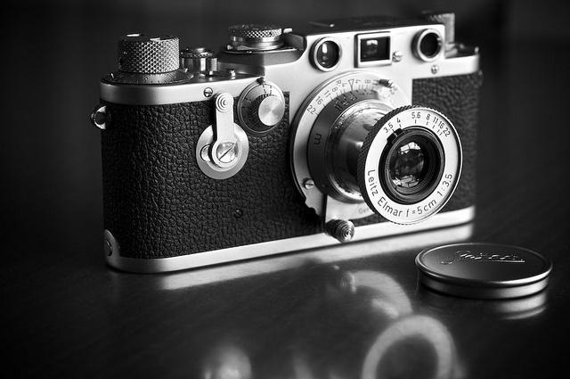 Leica IIIf with 50mm Elmar f/3.5 by J Howe, via Flickr