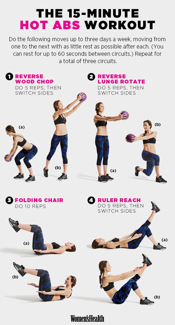 15-Minute Hot Bod Workout