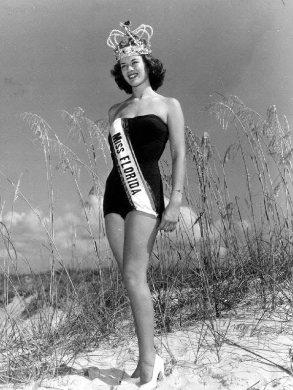 Carpenter Jacksonville  Rosemary Carpenter, Miss Florida 1948, Jacksonville Beach, Florida