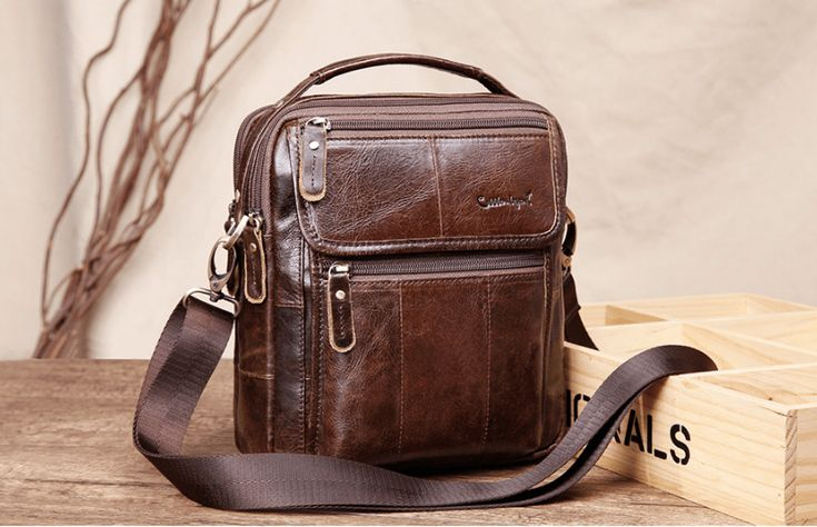 Leather Messenger Bag For Men – Mr Steampunks Shop Leather Messenger Bag For Men $167.95  Vintage Style Man Bag Compact And Very Versatile Business Bag. It Is A Beautiful Coffee Color To Give That Vintage Edge.