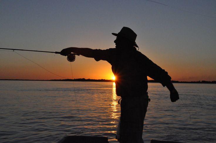 Corrientes #Pesca #Litoral #Atardecer #Río