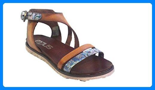 Mjus Sandale, Antikleder iride-caramel, 255019-0301-0001 (42 EU) - Sandalen für frauen (*Partner-Link)