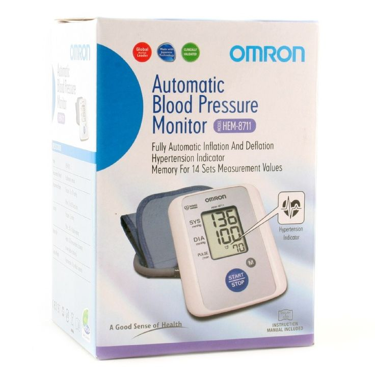 Omron Bp Monitor Upper Arm (Hem-8711) Buy Online at Best Price in India: BigChemist.com