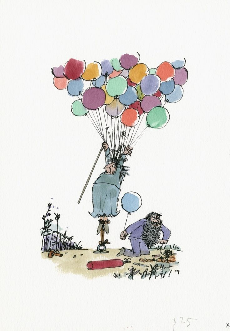 The Twits ©Quentin Blake, 2010