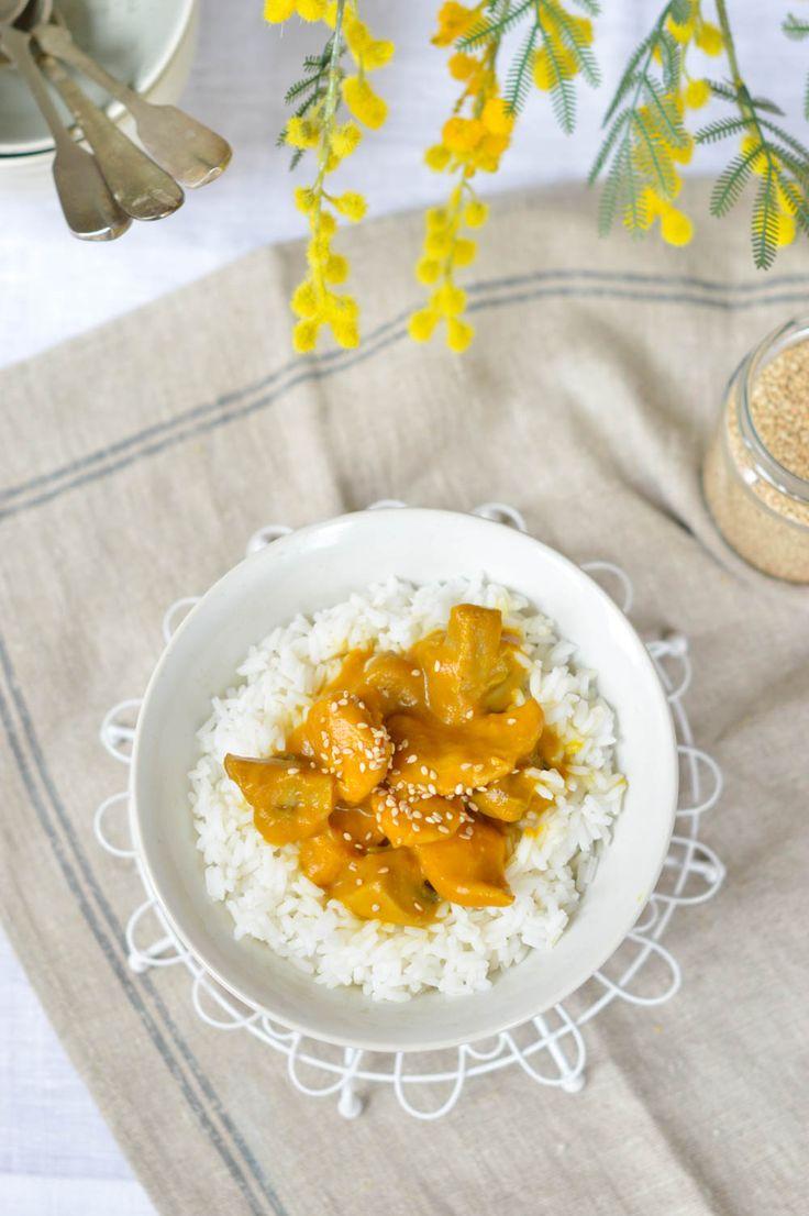 Curry de pollo, una receta ligera y muy nutritiva