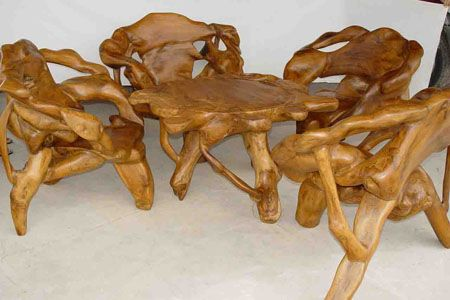 Teak Root Furniture For Sale Google Search Teak Garden