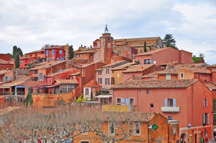 Sentiers des Ocres, Roussillon #Luberon #Provence France #Ocres