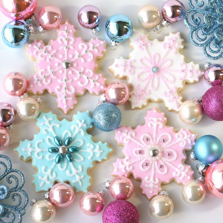 276 Best Pastel Christmas Images On Pinterest Pink