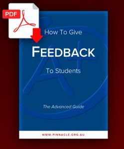 Discover how to give feedback to students in this practical, evidence-based guidebook. Download your free copy today.