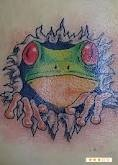 tribal frog tattoo - Google Search
