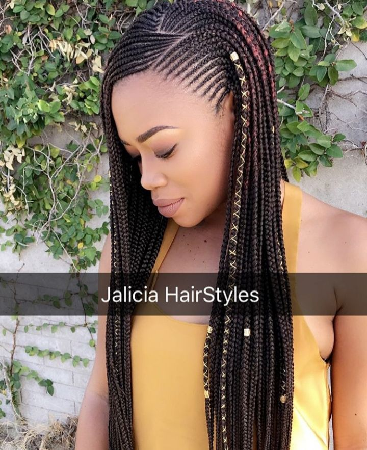 conrows african braids hairstyles