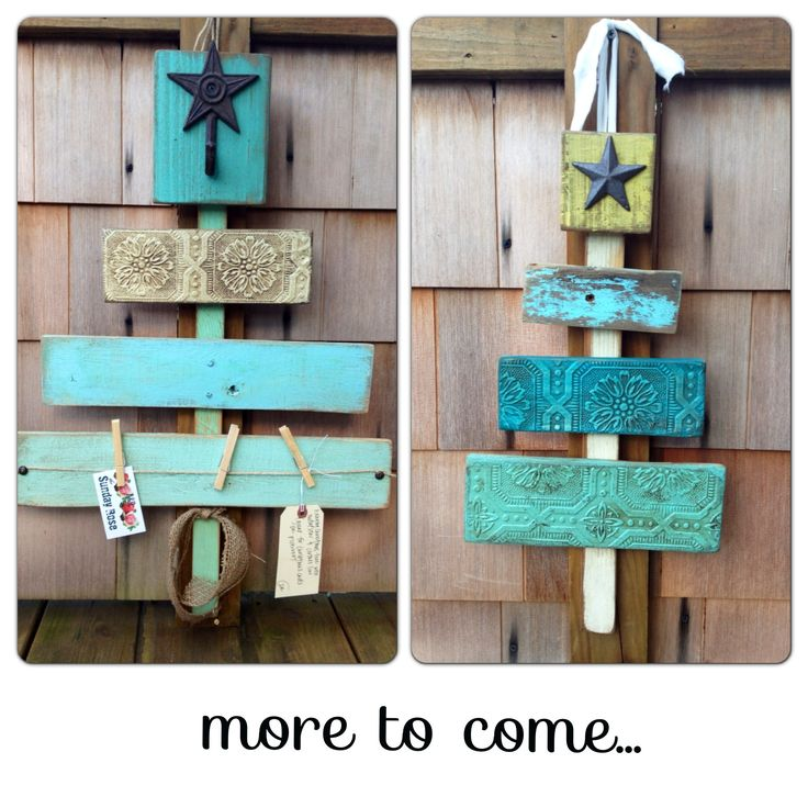 Christmas Wood Craft Ideas Part - 48: Pallet Christmas Trees Woodstock Market