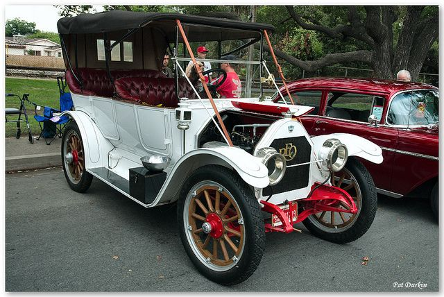 1912 Reo Touring Car - white - fvr by Pat Durkin - Orange County, CA, via Flickr