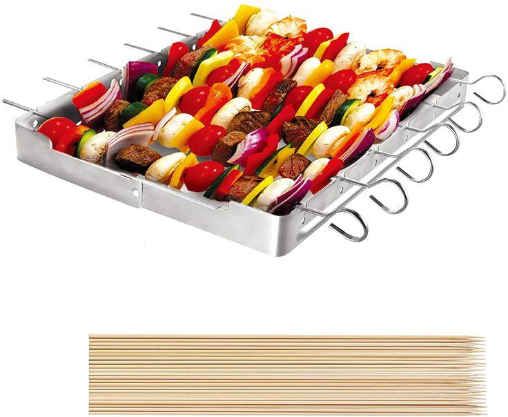 amazon  unicook heavy duty stainless steel barbecue