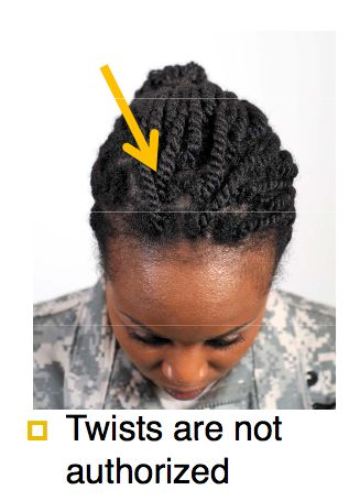 "US Army Releases ""Racially Biased"" Hairstyle Regulations"