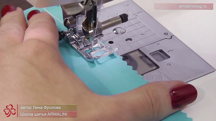 Как быстро сметать детали на швейной машине