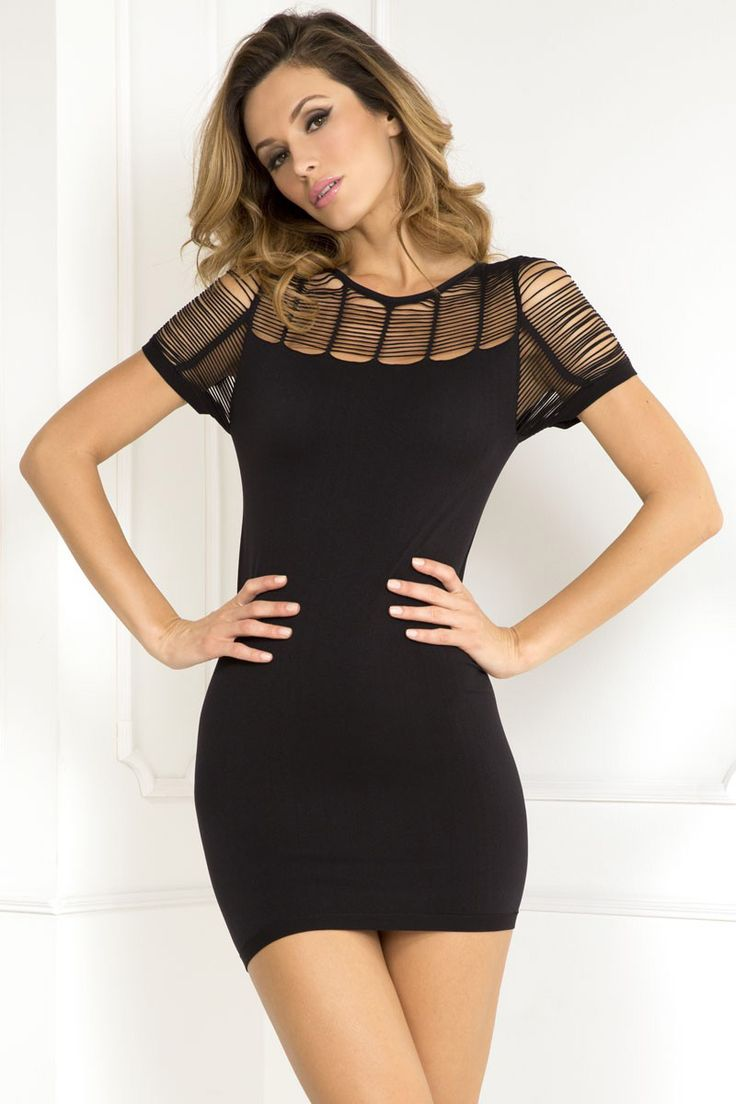 Rene Rofe Sexy Sophisticated Seamless Dress £28.99  Looking for a seamless dress that you can wear out? We've got you covered. #renerofe #clubwear #littleblackdress