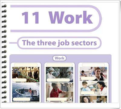 """Unidad 7 de Social Science de 3º de Primaria: """"Jobs"""""""