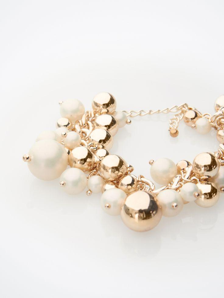Multi-element bracelet KJ472-GLD  #mohito #jewelry #shine