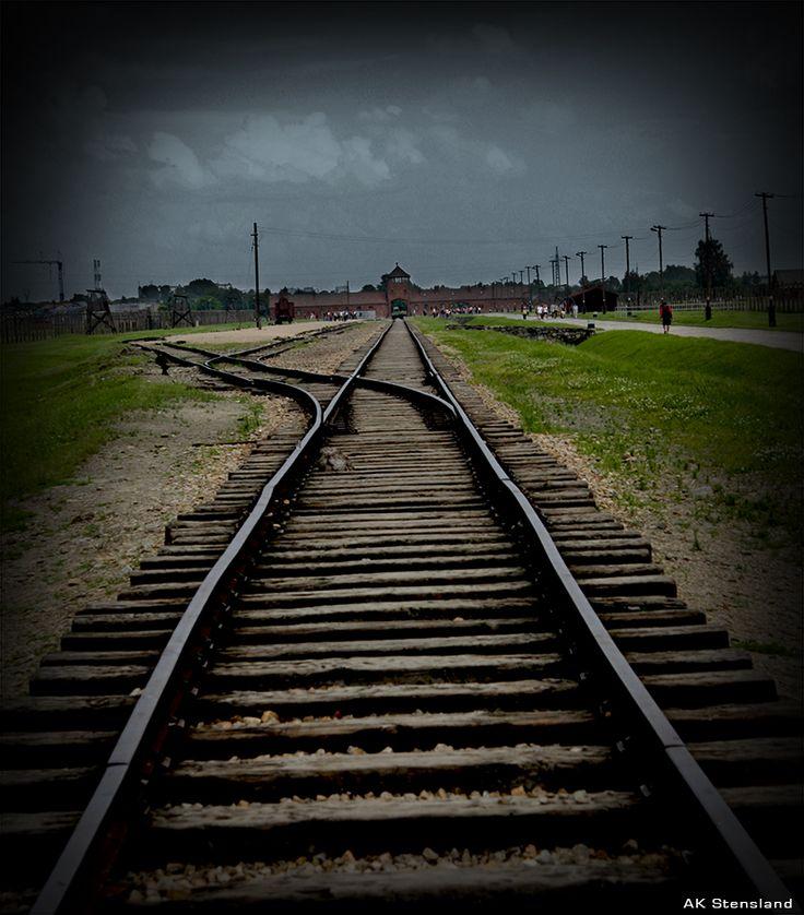 Foto: AK Stensland, Auschwitz konsentrasjonsleir i Polen.