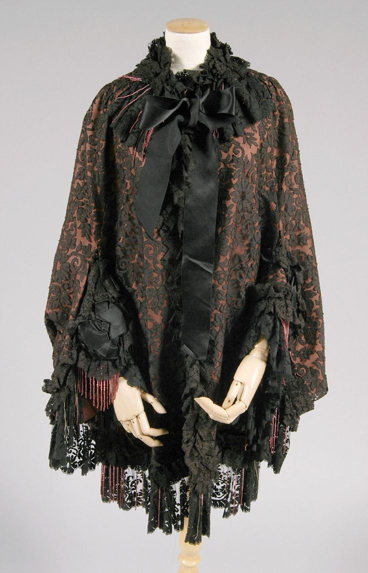 1482 best Victorian Capes, shawls and coats 1837 - 1901 ...