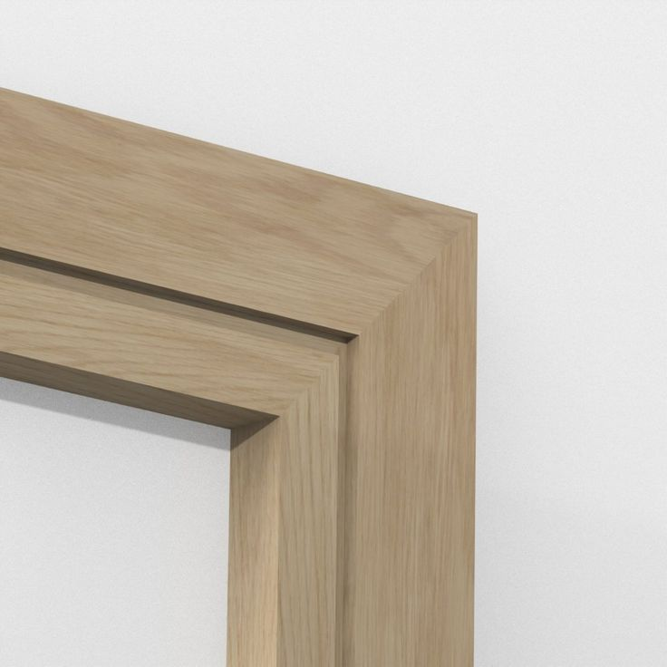 Oak Solid Square Single Edge Architrave Sets from LoveSkirting.co.uk Modern style