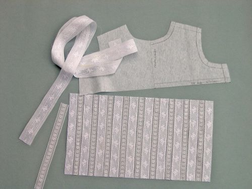 Heirloom Christening gown  - step by step