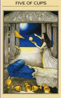 5 of Cups -- Mythic Tarot