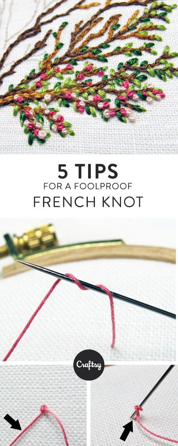 5 Tips for Foolproof French Knots