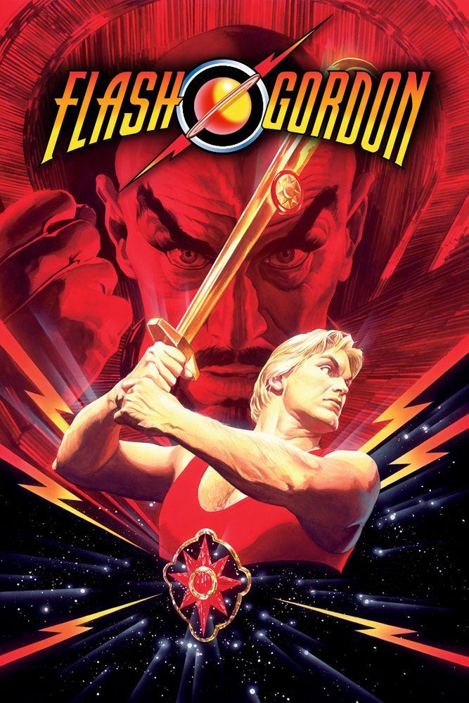Flash Gordon (1980) Movie Poster - Sam J. Jones, Max von Sydow, Melody Anderson #FlashGordon, #1980, #MoviePoster, #ActionAdventure, #MikeHodges, #Poster, #MaxvonSydow, #MelodyAnderson, #SamJ, #Jones