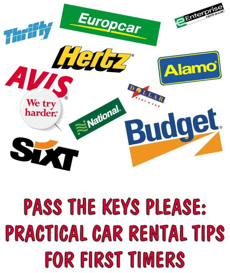 When you're a first timer in the car rental arena, you need to know some savvy tips to get the best deals and where to find them.