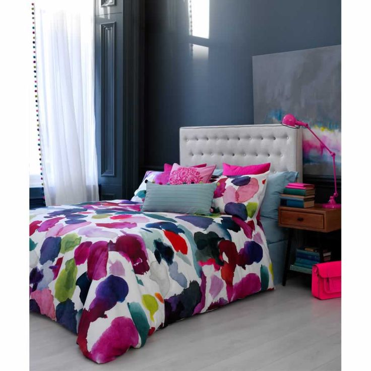 Abstract duvet cover from Bluebellgray.com. A Scottish textile design company.