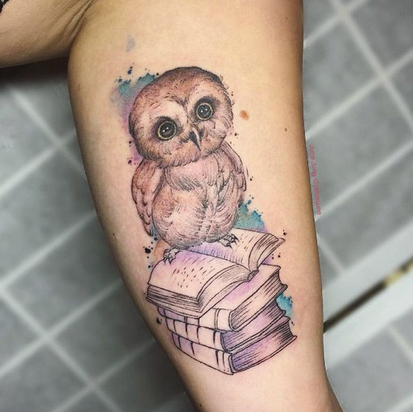 Best 20 baby owl tattoos ideas on pinterest for Baby s first tattoo book