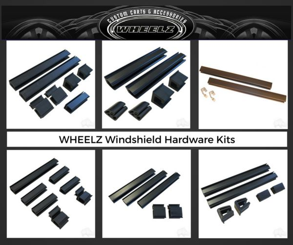 Golf Cart Windshield Replacement Hardware Kits