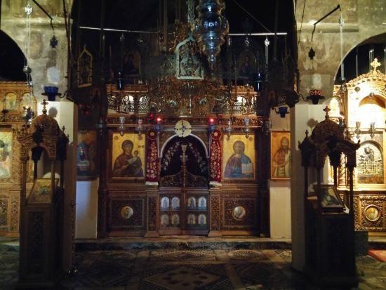 Icons from Mega Spileo monastery