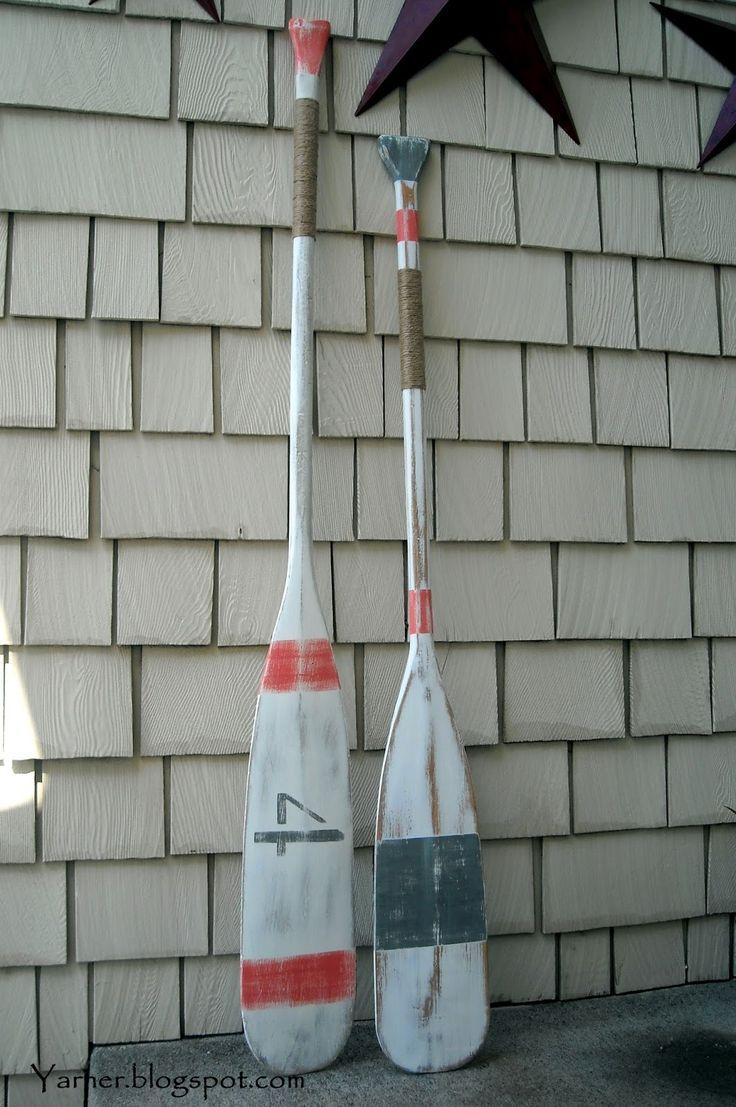 I'm a Yarner: Painted Oars