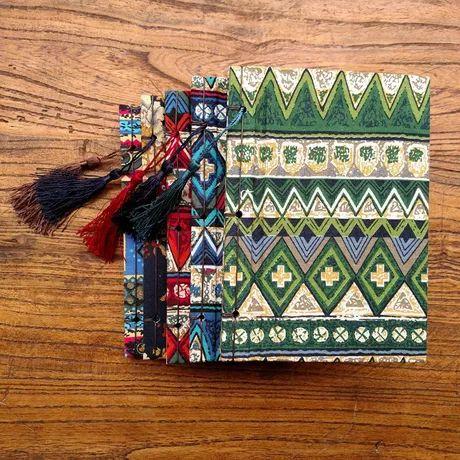 线装手工本 布面本 古风本子  牛皮纸日记本 笔记本  记事本