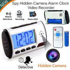 Digital SPY Camera Alarm Clock Hidden Video Camera CAM DVR Motion Detector | eBay